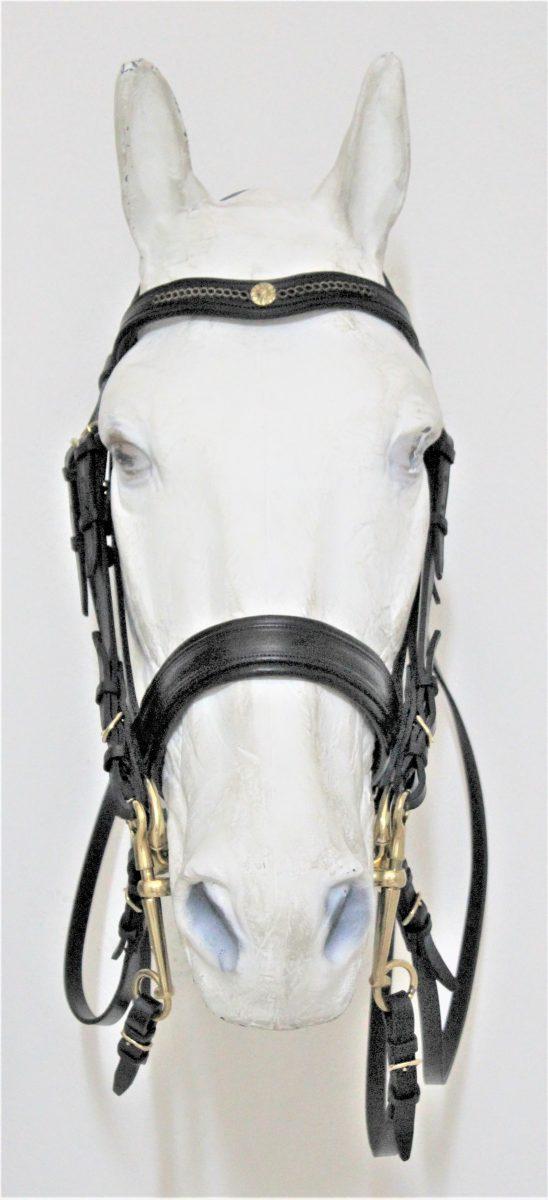 Cabeçada Inglesa Dressage - Frente