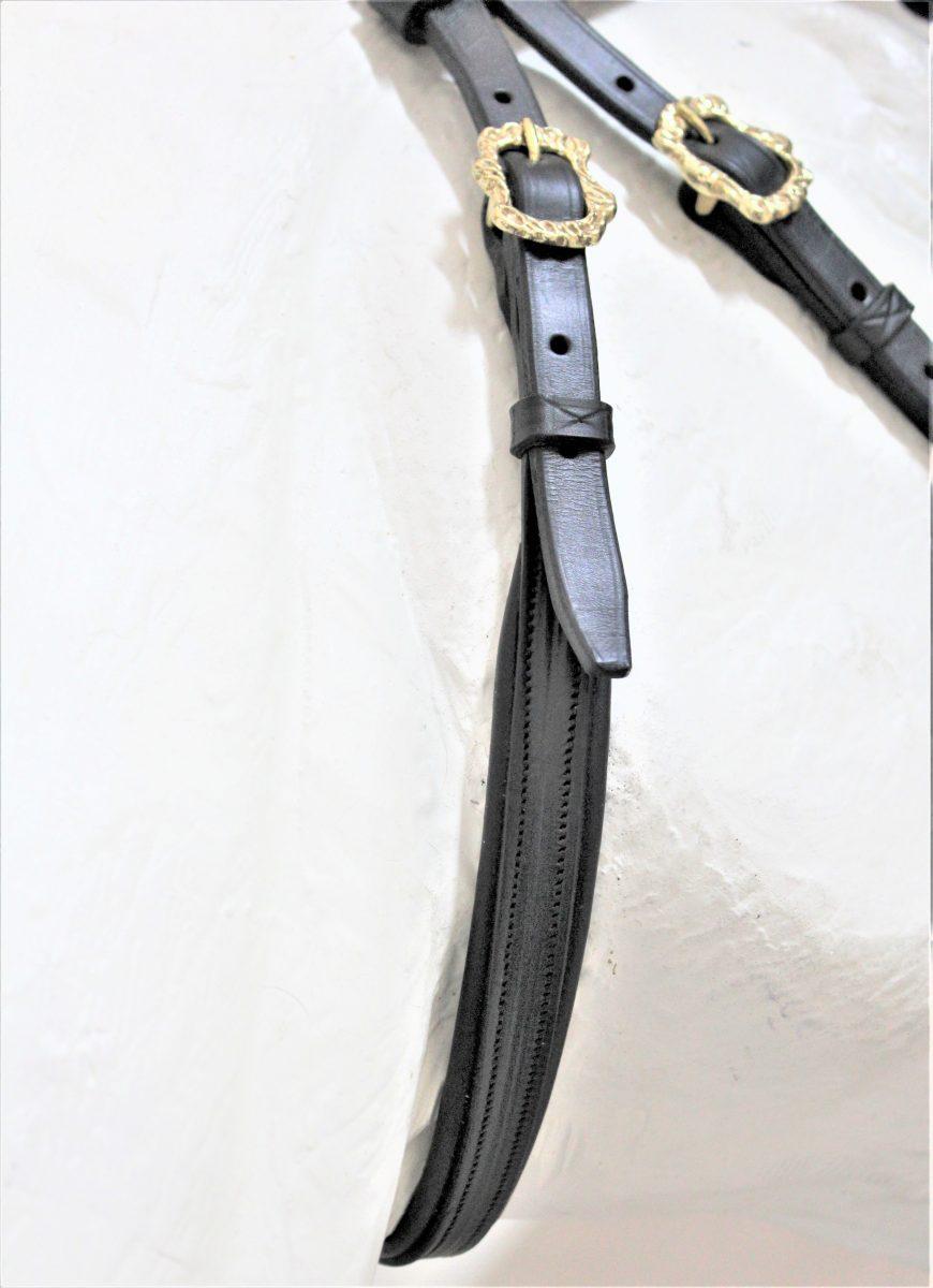 Cabeçada Portuguesa Anatómica Simples - Detalhe