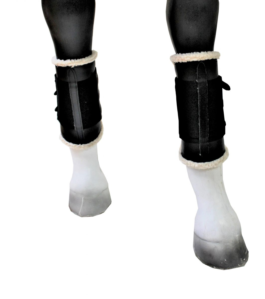 Portuguese Horse Boots with Wool